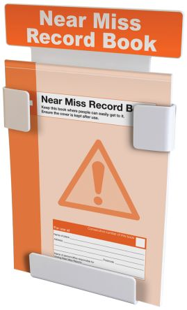 Near Miss Book with Wall holder and A4 B