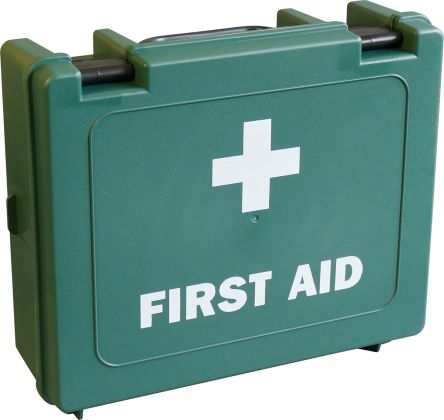 First Aid Kit for 100 people, 90 mm x 270mm x 220 mm