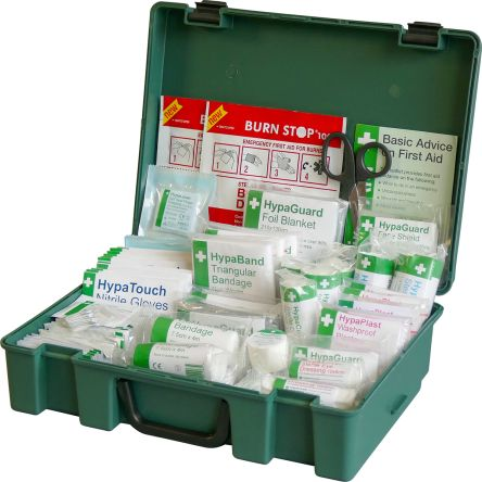 First Aid Kit for 24 (Low Hazard), 4 (High Hazard) people, 100 mm x 340mm x 250 mm product photo