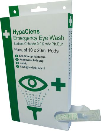 HypaClens Small Eyewash Pods Dispenser B