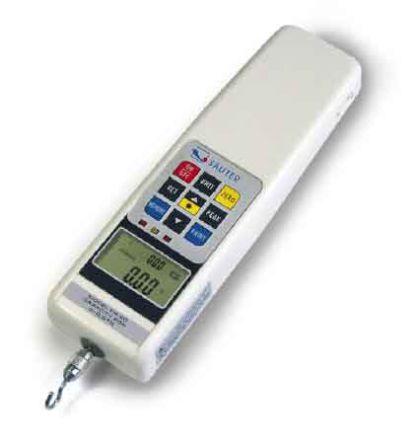 Dinamómetro Sauter FH 5UK, medición hasta 5No, precisión ±0.5 %