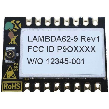 RF Solutions LAMBDA62C-9D RF Transceiver Module 915 MHz, 1.6 → 3.3V