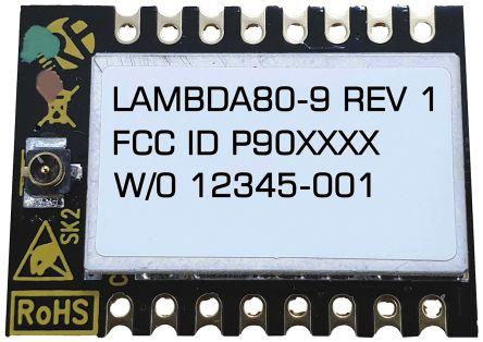 RF Solutions LAMBDA80C-24S RF Transceiver Module 2.4 GHz, 1.8 → 3.7V