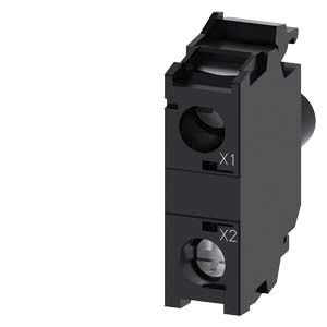 Siemens SIRIUS ACT Light Block - Green, 6 → 24 V ac/dc