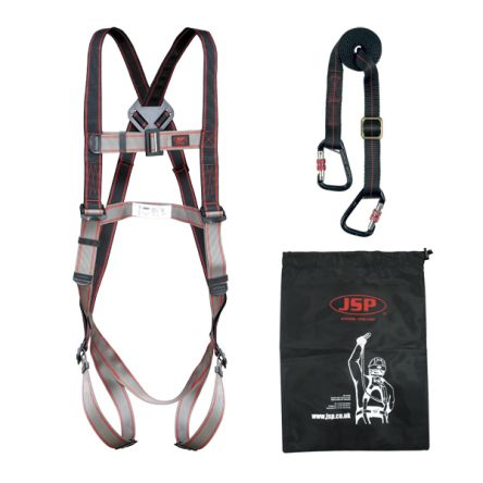 Fall Arrest & Fall Recovery Kit FAR1103 Containing Draw String Bag, Harness, Lanyard product photo