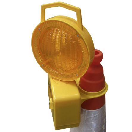 JSP Flashing Safety Cone Warning Lamp