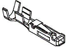 Molex Female PCB Terminal 22 5016471000