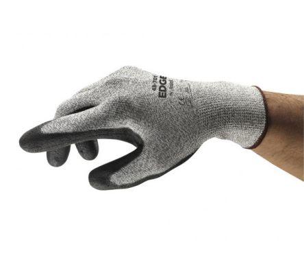 Ansell EDGE Polyurethane-Coated Gloves, size 8