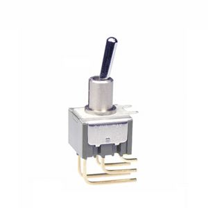 NKK Switches Double Pole Double Throw (DPDT) Toggle Switch, Latching, IP67, Through Hole
