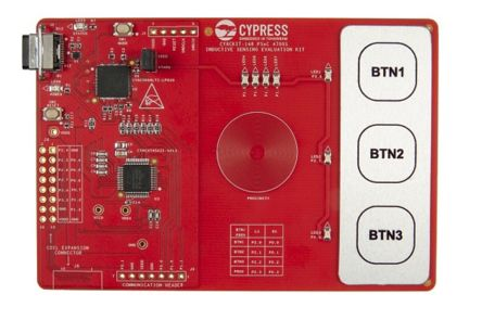 Cypress Semiconductor 4700S Inductive Sensing Evaluation Kit PSoC Evaluation Kit CY8CKIT-148