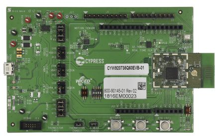 Cypress Semiconductor - CYW920735Q60EVB-01CYW20735 Bluetooth Evaluation Kit Evaluation Kit 2480MHz