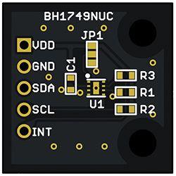 ROHM BH1749NUC-EVK-001, Evaluation Board Colour Sensor Colour Sensor Evaluation Board for BH1749NUC for Colour Sensors