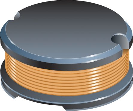 Bourns, SDR0805, SMD Wire-wound SMD Inductor with a Ferrite DR Core, 330 μH ±10% Ferrite Core 400mA Idc Q:12