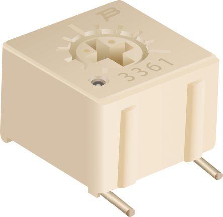 10kΩ SMD Trimmer Potentiometer 0.5W Top Adjust Bourns 3361 Series