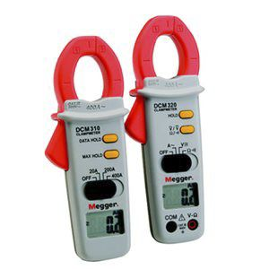 DCM320 Clamp Meters, Max Current 400A ac CAT III 600 V product photo