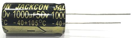 RS PRO 10μF Electrolytic Capacitor 25V dc, Through Hole