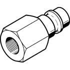 Festo Pneumatic Quick Connect Coupling Brass 1/2in Threaded