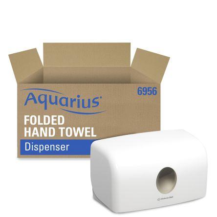 Kimberly Clark ABS White Paper Towel Dispenser, 287mm x 142mm x 159mm