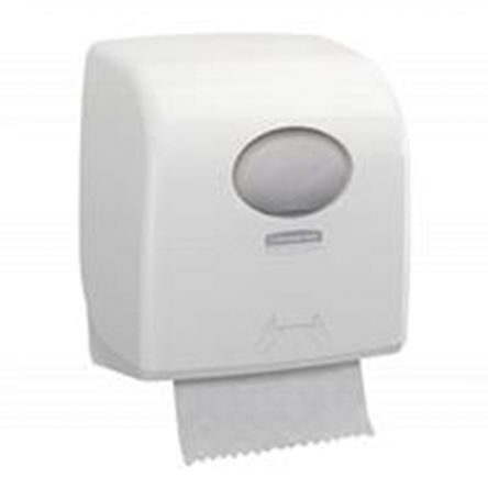 Kimberly Clark ABS White Paper Towel Dispenser, 297mm x 192mm x 324mm