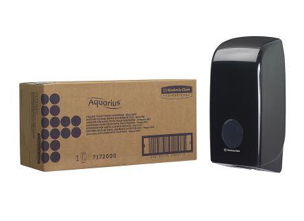 Kimberly Clark Black Plastic Toilet Roll Dispenser, 168mm x 123mm x 338mm