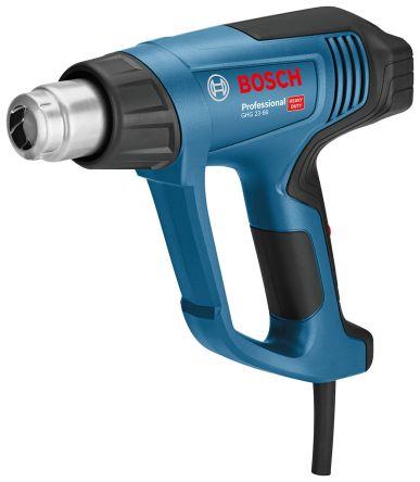Bosch GHG 23-66 +650°C max Heat Gun, 230V, 2.3kW, Type G - British