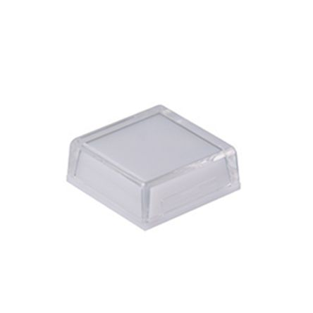 Square Push Button Lens for use with KP Series