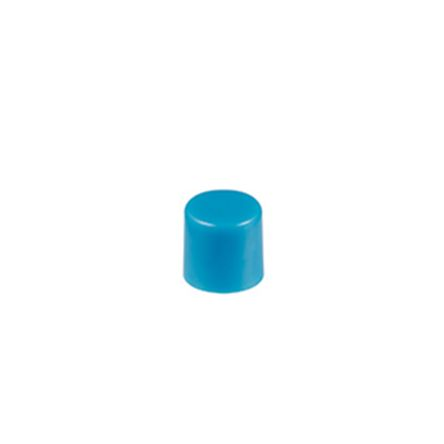 Blue Push Button Cap, for use with DB Series Pushbuttons, EB Series Pushbuttons, M2B Series Pushbuttons, MB20 Series