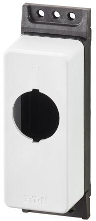 Eaton M30 Enclosure, 1 Hole Yellow, 30.5mm Diameter