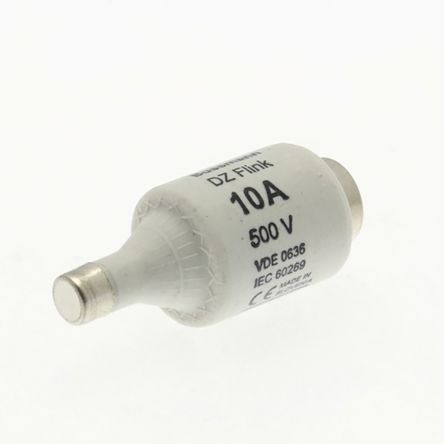 Cooper Bussmann 10A DII Bottle Fuse, E27 Thread Size, gG, 500V ac