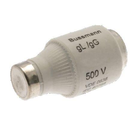 Cooper Bussmann 25A DII Bottle Fuse, E27 Thread Size, gG, 500V ac