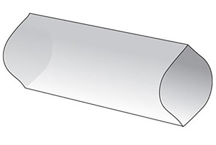 Alpha Wire Natural 1.2:1, Heat Shrink & Cold Shrink Sleeve 11.18mm Sleeve Dia. x 0.6m Length , FIT-400 Series