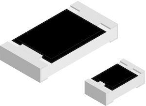 10Ω 0402 Thick Film Surface Mount Fixed Resistor ±1% 0.2W - CRCW040210R0FKEDHP