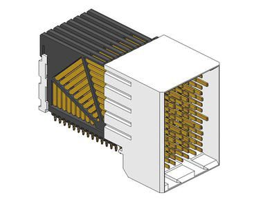Amphenol FCI Airmax VS Series 2mm Pitch Backplane Connector, Male, Right Angle, 8 Column, 120 Way 10041460