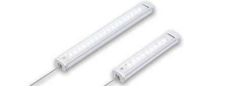Idec LF2B LF2B-C3P-ATHWW2-1M 7.5 W LED, 100 → 240 V ac, White, 5500K, with Clear Diffuser