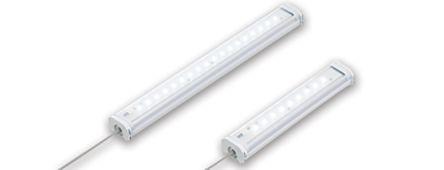 Idec LF2B LF2B-C3P-ATHWW2-1M 7.5 W LED LED Illumination Unit, 100 → 240 V ac, White, 5500K, with Clear Diffuser