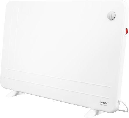 800W freestanding panel heater in white