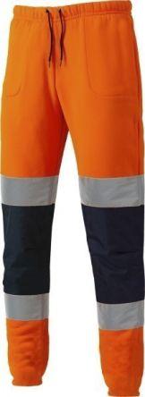 Dickies Hi-Vis Joggers Orange/Navy L