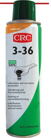 CRC Lubricant Multi Purpose 250 ml 3-36 Aerosol,Food Safe