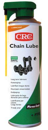 CRC Lubricant High performance 500 ml CHAIN LUBE Aerosol,Food Safe