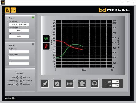 Metcal Desoldering Tweezers CV-5200 Series