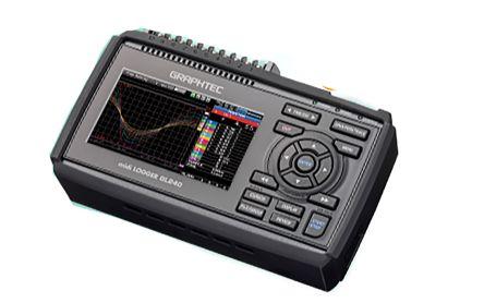 Graphtec GL240 Data Logger, Maximum Voltage Measurement 100V, Maximum Temperature Measurement 1100 (Type J) °C, 1300
