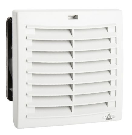 Filter Fan, 124 x 124mm, 63m³/h, 24 V dc, IP54