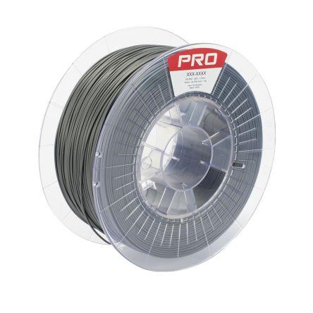 RS PRO 1 75mm Grey PLA Ultra Diamond 3D Printer Filament, 1kg