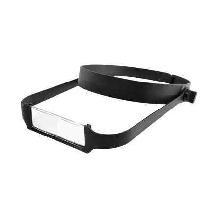 Lightweight Headband Magnifier +4 lenses