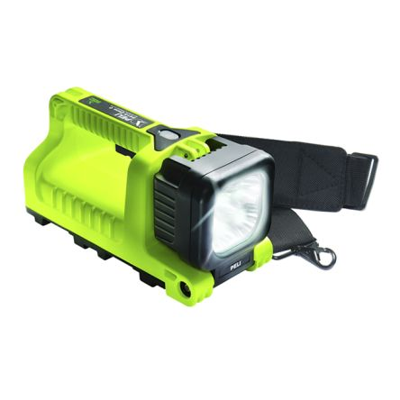 Peli 9415z0 Rechargeable, LED Handlamp Water Resistant, 392 m Beam, with batteries 4.8 V
