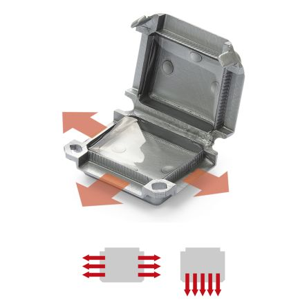 Happy 1 GelBox for connectors (blister o