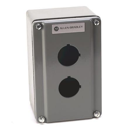 Allen Bradley 800T Push Button Enclosure - 2 Hole 30mm Diameter