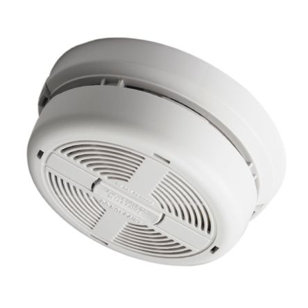 BRK Smoke Detector Smoke Alarm, 85dB, 230V ac