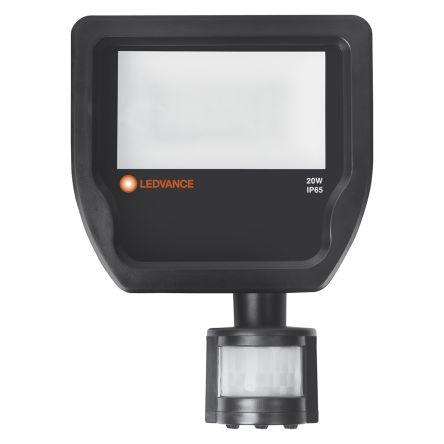 LEDVANCE LED Floodlight, 20 W, 2200 lm, IP65 Motion Sensor 220 → 240 V