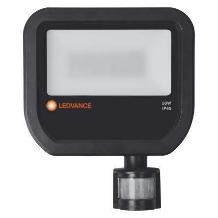 LEDVANCE LED Floodlight, 50 W, 5500 lm, IP65 Motion Sensor 220 → 240 V